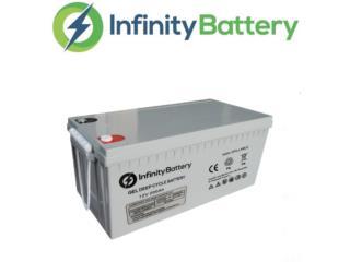 Bateria Gel solar 12Volt - 250amp sellada , Mundo Solar Puerto Rico