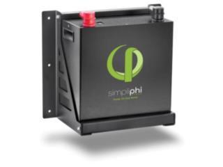 Compra Bateria SimpliPhi precio manufactura, Reborn Energy Puerto Rico