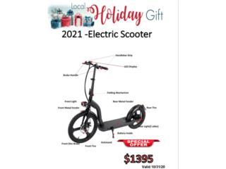 Scooter Electrica , Tech Factory USA Puerto Rico