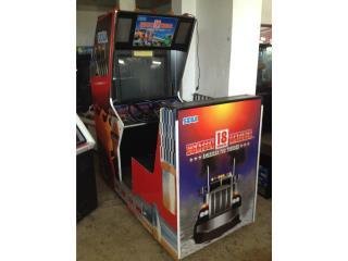 Arcade 18 Wheeler Truck Simulator, Máquinas Arcade Puerto Rico Puerto Rico