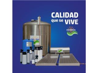 Tanques de Agua y Calentadores Solares, Universal Solar Equipment Puerto Rico
