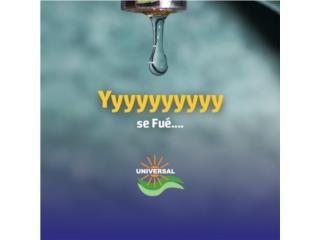 Cisterna en Stailess Steel, Universal Solar Equipment Puerto Rico