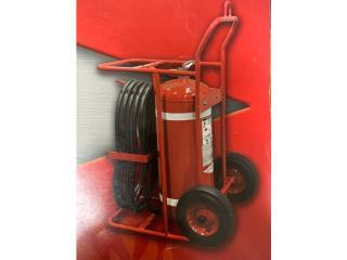 EXTINTOR RODANTE  DE 50 LIBRAS, Department Fire Equipment Inc. Puerto Rico