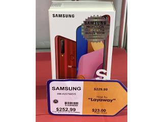 Samsung A20 nuevo $230 aprovecha!, La Familia Casa de Empeño y Joyería, Bayamón Puerto Rico