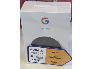 Google smart speaker Nuevo $25 aprovecha!, La Familia Casa de Empeño y Joyería, Bayamón Puerto Rico