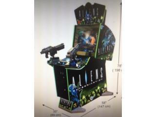 Aliens Arcade Machine, Máquinas Arcade Puerto Rico Puerto Rico