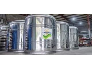 CISTERNAS EN STAINLESS STEEL , Universal Solar Equipment Puerto Rico