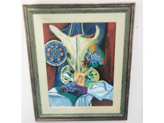 Pintura Miriam Burgos , La Familia Casa de Empeño y Joyería-Ave Piñeiro Puerto Rico