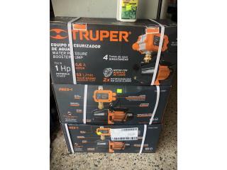 Motor Truper y presurizador electrónico , Agro Zone Manatí  Puerto Rico