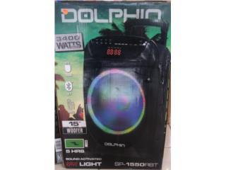 Bocina Dolphin Bluetooth, WESTERN DOLLAR  Puerto Rico
