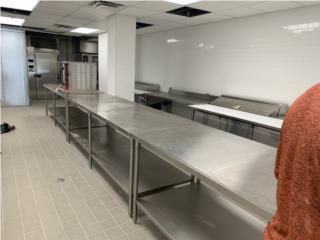 Mesas en ssteel 2,3,5,6,7,8 y 10 pies disp., Restaurant Equipment and Steel Puerto Rico