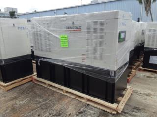 GENERAC PROTECTOR DIESEL 30KW/Tanque 136gal, G.T. Power Division  Puerto Rico