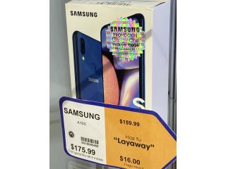 Samsung A10 nuevo de caja $160 aprovecha!, La Familia Casa de Empeño y Joyería, Bayamón Puerto Rico