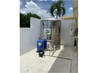 Cisterna Stailess Steel Universal, Universal Solar Equipment Puerto Rico
