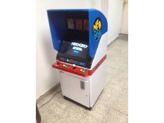 SNK Neo Geo Arcade, Máquinas Arcade Puerto Rico Puerto Rico