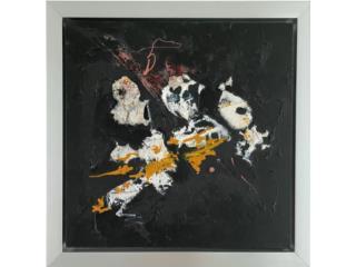 Obra abstracta Kevin Perez 2019, Paintings Puerto Rico
