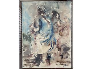 Danza-Epifanio Irizarry , Paintings Puerto Rico