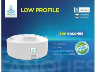 Tanque de Agua 500 Galones, Empress HQJ Puerto Rico