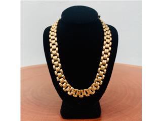 Cadena de Dama en Oro 14kt de 16