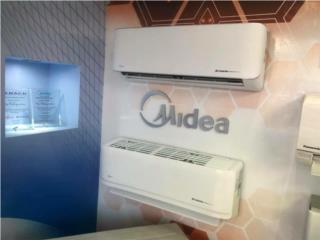 Caguas Puerto Rico Acondicionadores Aire - Inverter y Pared, MIDEA UP TO 21 SEER 24,000 BTU $1395