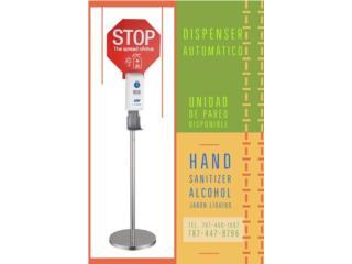 Dispenser Hand Sanitizer Automático , Vimar Imports of PR Inc. Puerto Rico