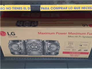 LG mini componente , La Familia Casa de Empeño y Joyería, Ave. Barbosa Puerto Rico