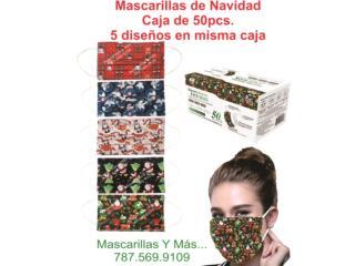 Bayamón Puerto Rico Balanzas, Mascarillas quirúrjicas diseño Navidad y Más