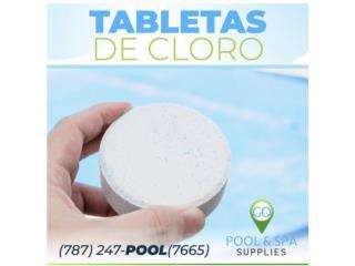Pastillas de cloro GOPOOL, GO-POOLSPA Puerto Rico