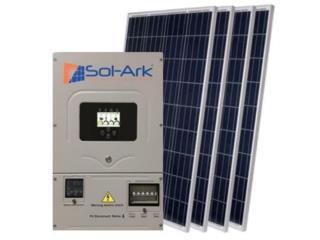 SolArk 12k con 32 Paneles  Battery Ready MN, 24/7 Planta Solar Puerto Rico