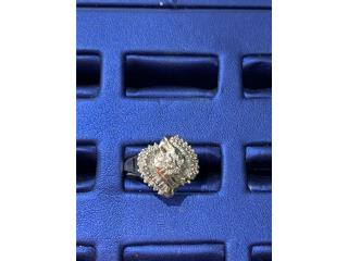 Sortija diamantes 10k, La Familia Casa de Empeño y Joyería-Humacao Puerto Rico