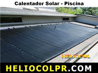 CALENTADOR SOLAR PISCINA_HELIOCOLPR.COM, UNIVERSAL SOLAR PRODUCTS, INC. Desde 1965 en PR. Puerto Rico