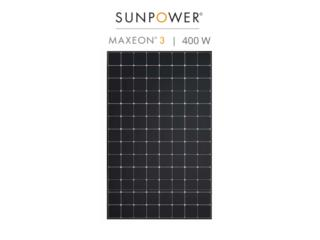 PLACA SOLAR SUN POWER MAXEOM 400, FIRST TECH SOLAR Puerto Rico