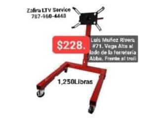 Stand de Motores $228.   1,250lbs Vega Alta, Zafira LTV Service Corp. Puerto Rico