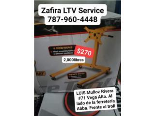 Stand de Motores $270     2,000 lbs, Zafira LTV Service Corp. Puerto Rico