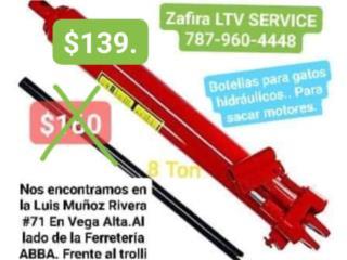 Botella hidraulica 8 Ton $149, Zafira LTV Service Corp. Puerto Rico