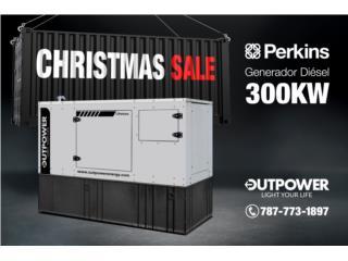 300kW Perkins® Stamford® ¡Entrega Inmediata!, OUT POWER ENERGY Puerto Rico