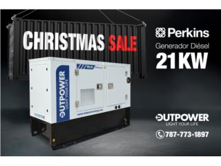 21kW Perkins® Stamford®, OUT POWER ENERGY Puerto Rico