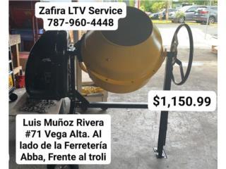 Mezcladora de Gasolina 5cub $1,150.99 , Zafira LTV Service Corp. Puerto Rico