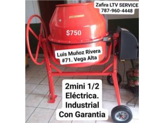 Mezcladora de cemento $750  2 mini, Zafira LTV Service Corp. Puerto Rico