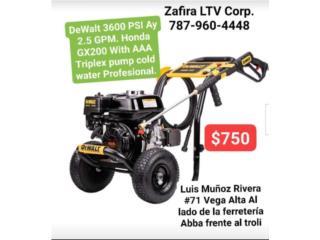 3600PSI(Pressure Washer)Maquinade presion$750, Zafira LTV Service Corp. Puerto Rico