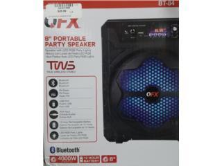 Bocina Bluetooth QFX, LA FAMILIA MANATI  Puerto Rico
