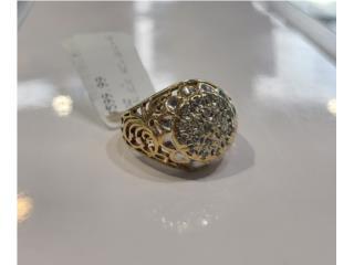Diamond Fashion Ring: 4.4D 10K, La Familia Casa de Empeño y Joyería-Mayagüez 1 Puerto Rico