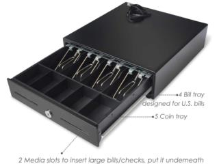 Post Cash Register Drawer 13 inches, WSB Supplies U Puerto Rico
