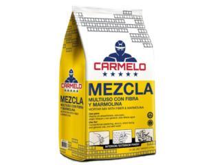 Mezcla De Albañilería  Uso General Carmelo, BLOQUES CARMELO Puerto Rico