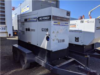 Generador Whisperwatt MQ70 62KW-750HRS 2017, G.T. Power Division  Puerto Rico