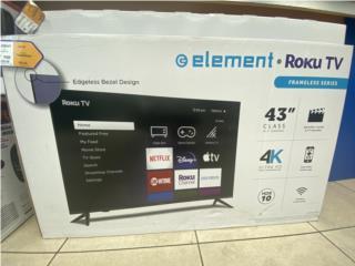 """Element TV 43"""", La Familia Casa de Empeño y Joyería-Guaynabo Puerto Rico"""
