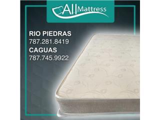 Set Mattress Ortopédico Antonella II de $269 , ALL MATTRESS Puerto Rico