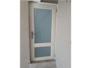 Puerta Full Glass Heavy Duty 38x84, #1 SANTIAGO WINDOW & DOORS Puerto Rico