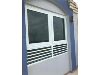 Ventanas Proyectantes Combinadas, #1 SANTIAGO WINDOW & DOORS Puerto Rico