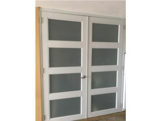 Puertas Dobles Con Diseños 60 x 80, #1 SANTIAGO WINDOW & DOORS Puerto Rico